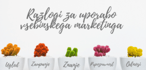 Razlogi za uporabo vsebinskega marketinga Balis content marketing